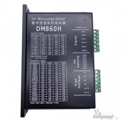 Driver do motor de passo DM860H  para motor cnc de 2 fases 4/6/8 fio